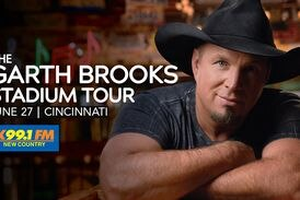 Garth Brooks' stadium concert in Cincinnati moved to June